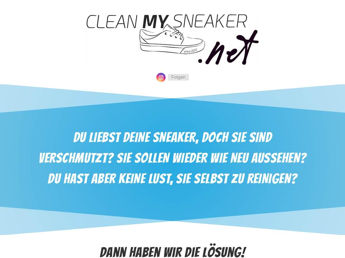 Clean My Sneaker