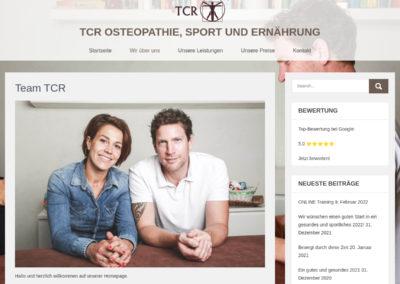 TCR Osteopathie